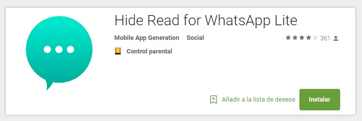 descargar hide read for whatsapp