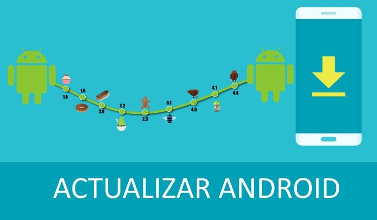 como actualizar android