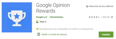 app google opinion rewards