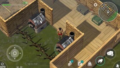 juego android de construir casa y matar zombies