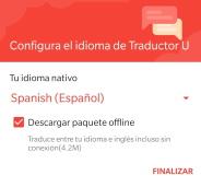 traducir a ingles offline